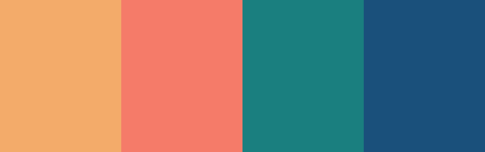 Demonstrating a rectangle color scheme.