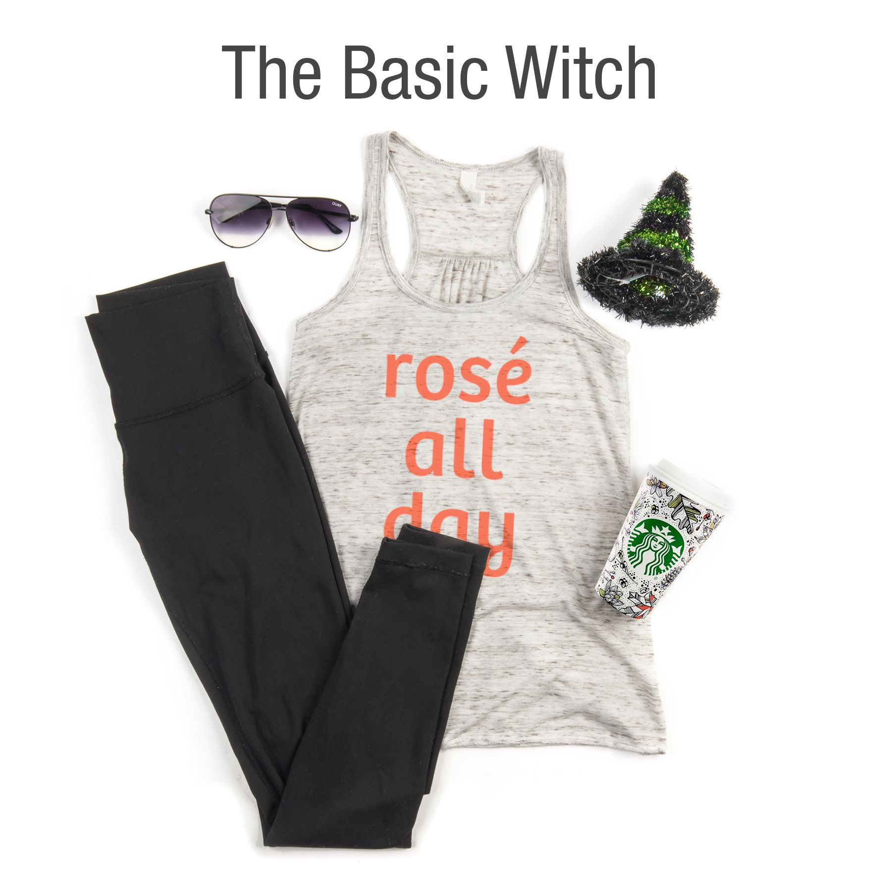Our Basic Witch example Halloween costume.