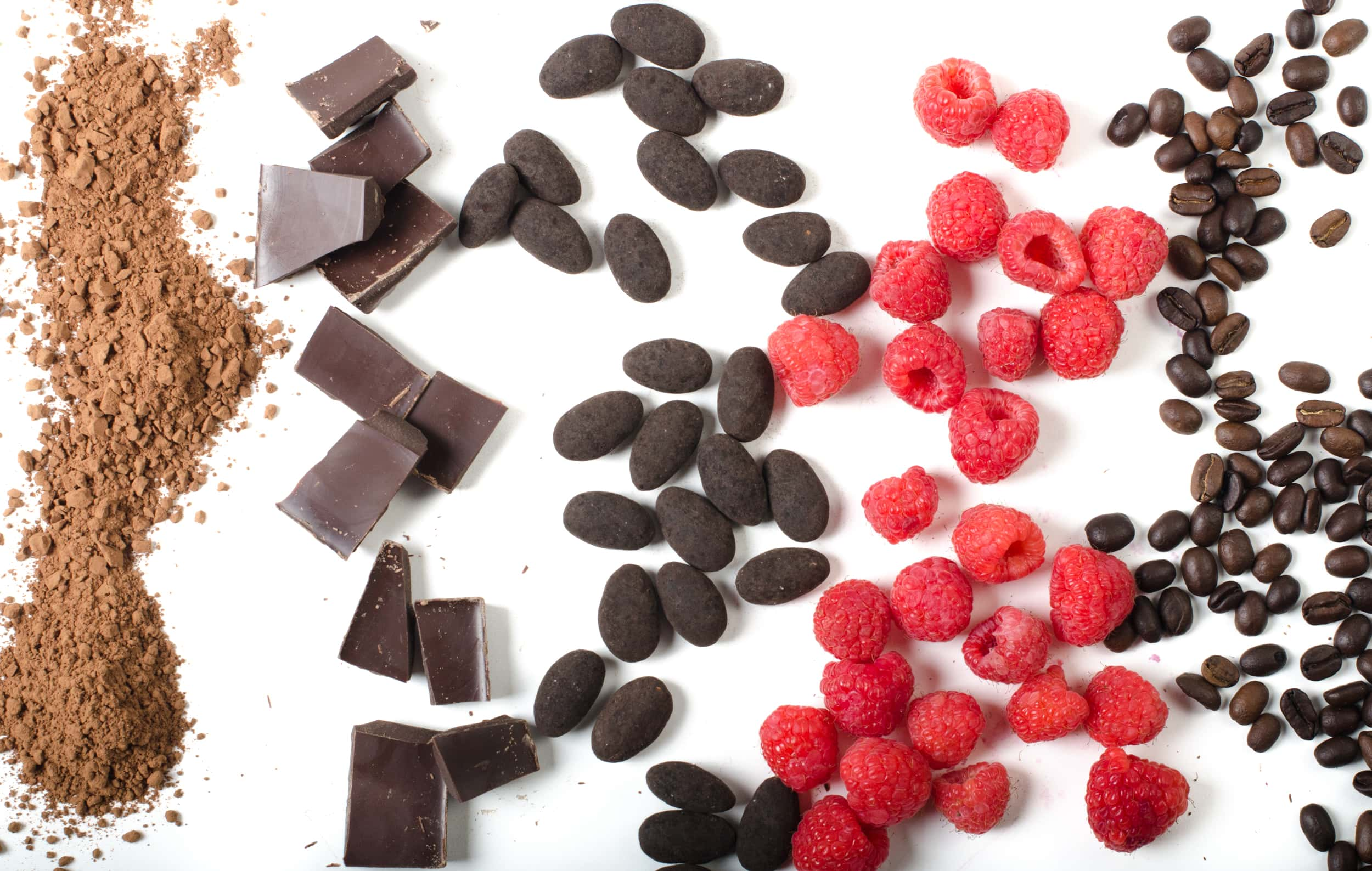 Various Skinny Dipped ingredients.