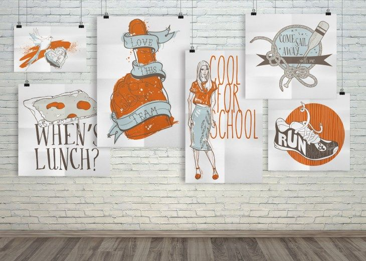 A collection of illustrations by Melissa.