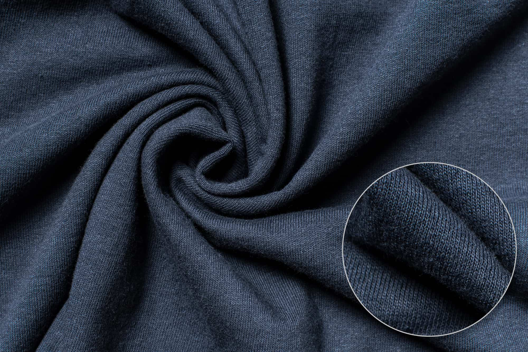 Fabric detail of the Gildan Ultra Cotton Tee.