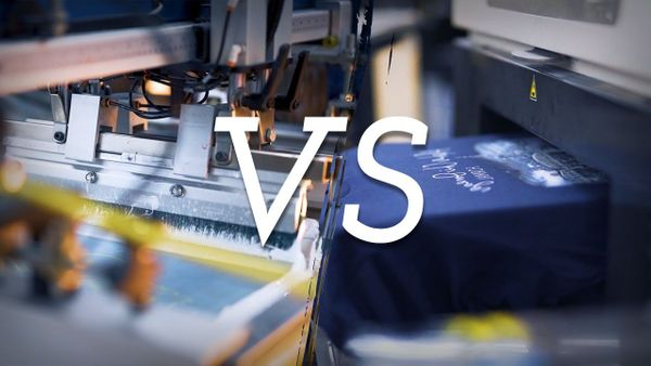 Screen Printing VS Digital Printing: Everything You Need To Know